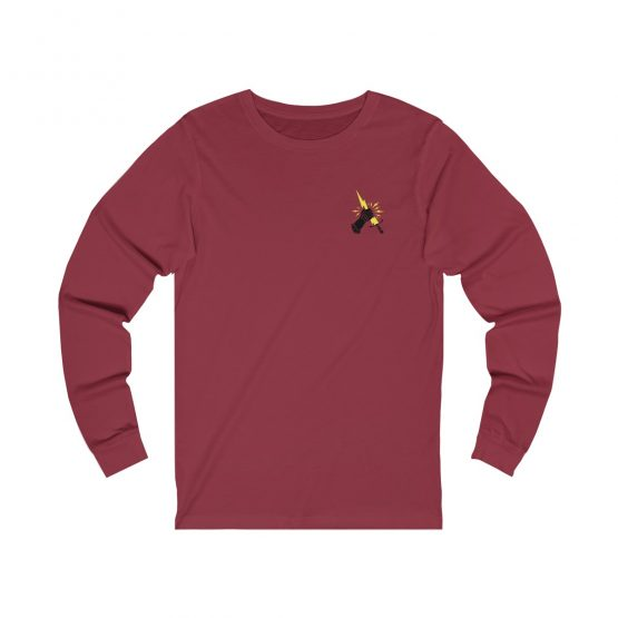 Prevail Long Sleeve Tee Red Back