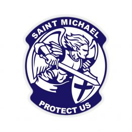 Saint Michael Sticker